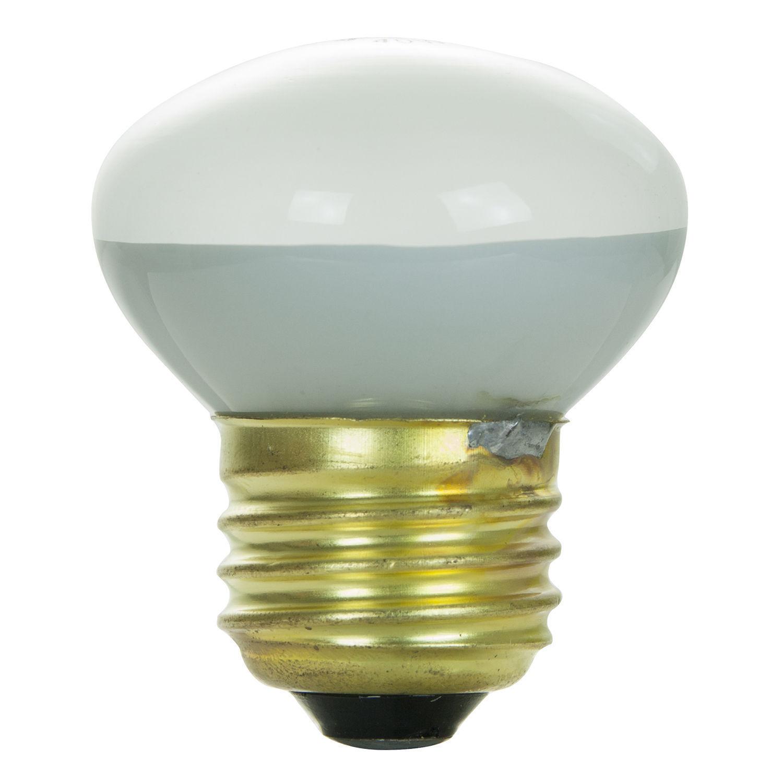 10 Pack 40r14 40 Watt E26 Medium Base Reflector R14 Incandescent Light Bulb Light Bulbs