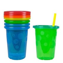2X The First Years Take and Toss Straw Cups, 10 Ounce, 4 Count - $15.79