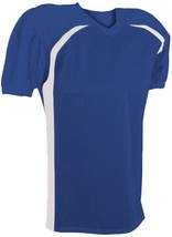Youth Football XL Jersey Lot of TWO (2) NWT Adams FJY-4 Royal Blue & Whi... - $13.85