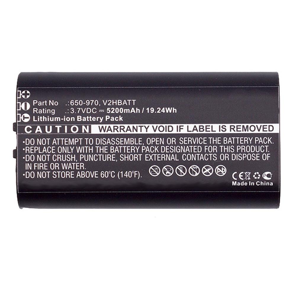 5200mAh 650-970, V2HBATT Battery for Sportdog TEK 2.0 GPS handheld transmitter - $12.95