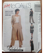 McCall's 7177 Sewing Pattern 6-8-10 Dress Vest Pants - $4.66