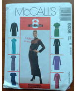 McCall's 9036 Sewing Pattern Dress Top Eight Great Looks 8-10-12 Stretch... - $5.40