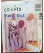 McCall's Crafts 685 Time Out Uncut Pattern - $6.09