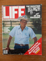 LIFE MAGAZINE MAY 1981 RONALD REAGAN SHOOTING OF THE PRESIDENT EXCLUSIVE... - $8.74