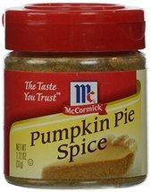 McCormick  Pumpkin Pie Spice (Pumpkin Flavored Fall Spice), 1.12 oz - $10.60