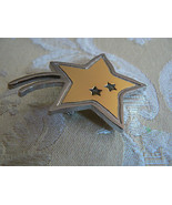 Lovely Goldtone & Silvertone Star Sharon Oien 2003-2004 R/G Award Fresno... - $5.93
