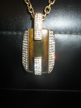 Ann Taylor Retired Rare Art Deco Inspired Necklace Gorgeous - $37.00