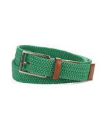 Perry Ellis Men's Green Webbed Stretch Full Gra... - $10.98