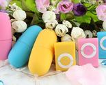 20 Speeds Wireless Waterproof Vibrating Egg Massager MP3 Style Remote Control