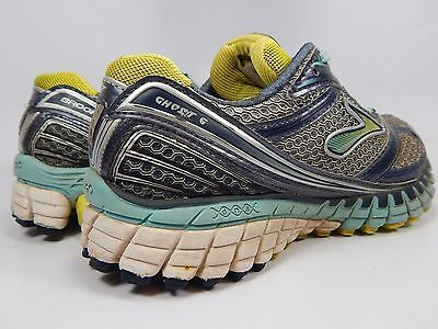 Brooks Ghost 6 Women's Running Shoes Size US 6 M (B) EU 36.5 Gray 1201381B620