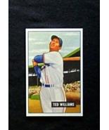1951 Bowman Baseball #165 Ted Williams [Boston Red Sox] Reprint - $3.75
