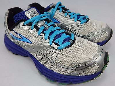 Brooks Launch Women's Running Shoes Size US 6.5 M (B) EU 37.5 White 1200601B486