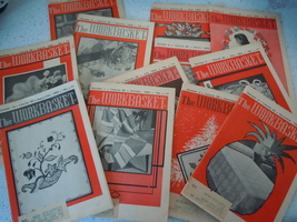 The Workbasket 1963 Craft Magazines 12 Issues - $9.99