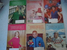 The Workbasket 1969 Craft Magazines 6 Issues - $3.99