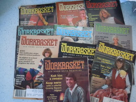 The Workbasket 1981 Craft Magazines 10 Issues - $7.99