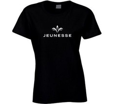 Jeunnesse Women's Fitted T Shirt Instantly Ageless Tee Novelty Clothing New - $17.84+