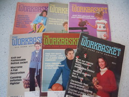 The Workbasket 1980 Craft Magazines 6 Issues - $3.99