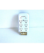 6-Outlet Wall Mount Surge Protector - $8.97