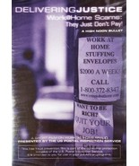Delivering Justice Work at Home Scams: They Just Don't Pay! DVD - $10.00