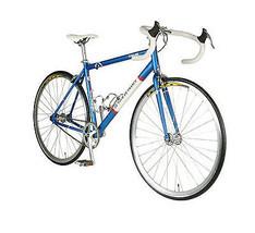 Tour de France Stage One Vintage Fixie Bike, 700c Wheels, Blue- PU ONLY ... - $326.65