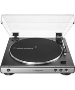 Audio Technica AT LP 60X Gunmetal Turntable Fully Automatic Stereo Recor... - $149.99