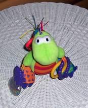 Lamaze Baby Play & Grow Green Dragon Plush Activity Ring Crinkle Bead Ra... - $9.59