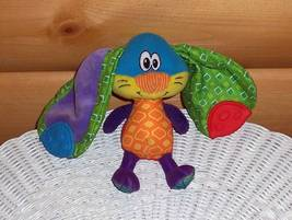 "Nuby Luv N' Care Colorful Long Teether Ears Plush 7"" Bunny Rabbit - $6.95"