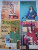 The Workbasket 1978 Craft Magazines 4 Issues - $2.99
