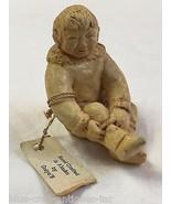 OOTEK ALASKAN INUIT ESKIMO Hand Made Clay Figur... - $57.42