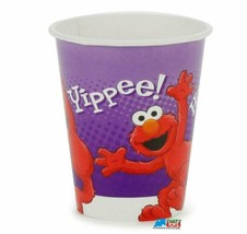 Hooray for Elmo 9 oz Paper Cups 8 Per Package Birthday Party Supplies New - $3.91