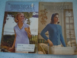 The Workbasket 1966 Craft Magazines 2 Issues - $2.99