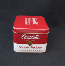 CAMPBELLS SOUPER RECIPES  COLLECTOR TIN - $16.14