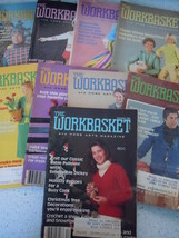 The Workbasket 1980 Craft Magazines 9 Issues - $6.99