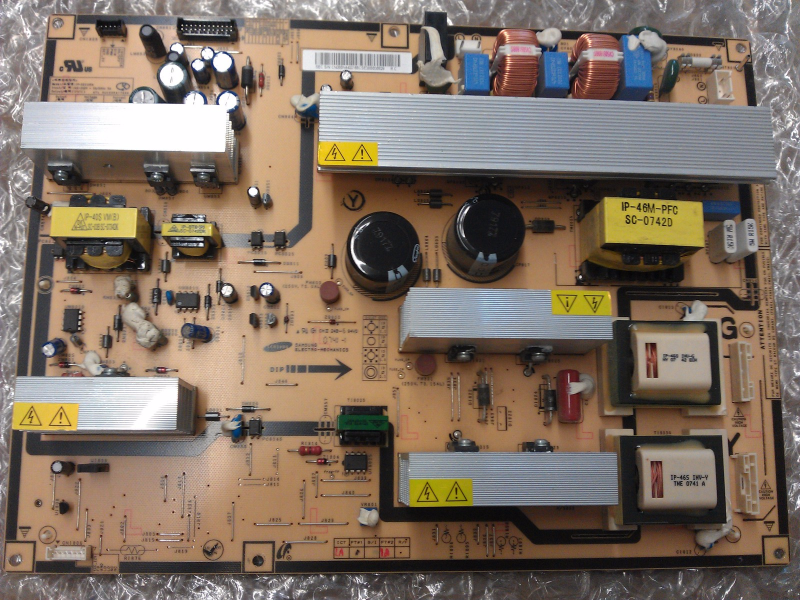 BN4400166C Power Supply Board From Samsung LNT4671FX/XAA LCD TV