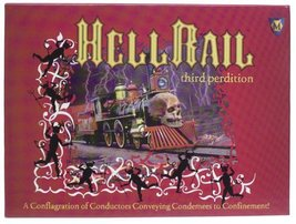 Hell Rail Board Game by Mayfair Games - $17.64