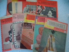 The Workbasket 1964 Craft Magazines 10 Issues - $8.99