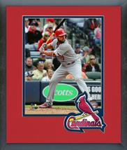 Matt Holliday 2016 St. Louis Cardinals- 11 x 14 Team Logo Matted/Framed Photo - $42.95