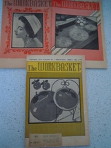 The Workbasket 1962 Craft Magazines 3 Issues - $3.99