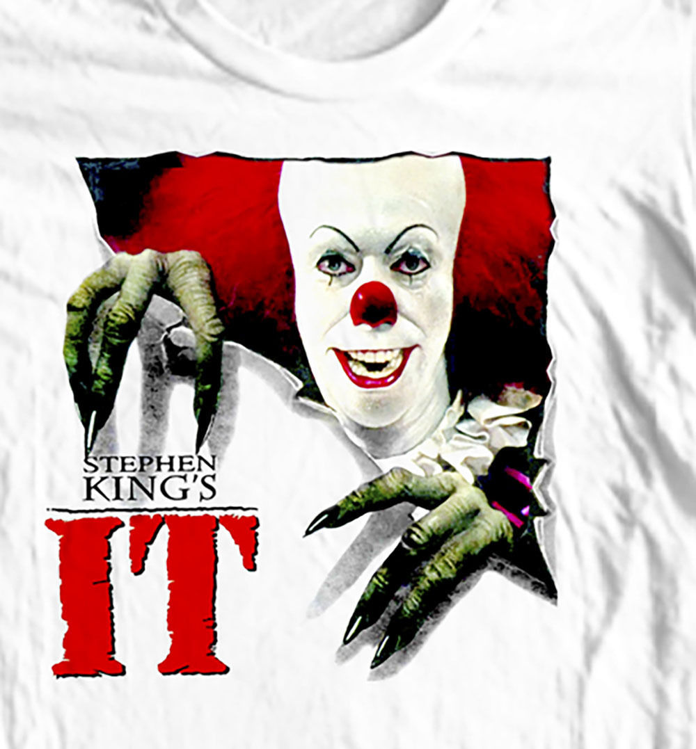 Stephen King's IT T-shirt  Cujo  retro 80's horror movie 100% cotton graphic tee