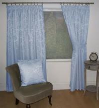 New Lana Light Blue 46 x 72'' Pencil Pleat Curtains - $30.15