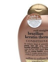 Organix: Ever Straight Brazilian Keratin Therapy Conditioner, 13 oz (4 pack) - $64.80