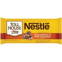 Nestle Toll House Peanut Butter and Milk Chocolate Morsel Mix, 11 Ounce ... - $11.76