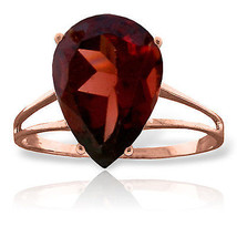 Brand New 5 CTW 14K Solid Rose Gold Sensuality Garnet Ring - $305.30