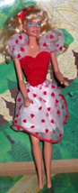 Barbie Doll 1976 - Valentine Barbie - $9.90