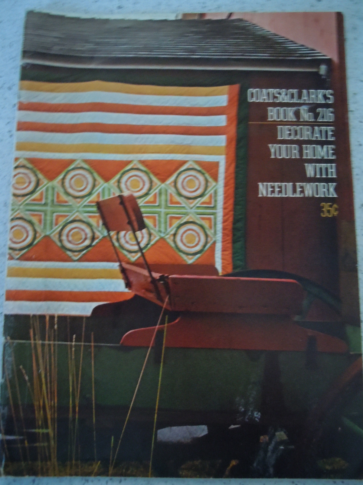 Coats & Clark Decorate Your Home with Needlework Booklet 1971 - $4.99