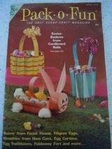 Pack o Fun Scrap Craft Magazine April 1976 - $3.99