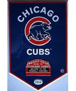 Chicago Clubs Embossed Metal Sign - $19.95