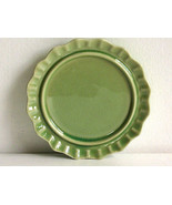 6'' Green Crackle Anthropologie Replacement Saucer Tea Plate - $12.97