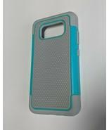 Galaxy S8 Active Phone Case-Mint & Grey - $9.41