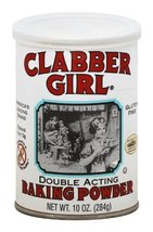 Clabber Girl Baking Powder, 8.1 Ounce Cans (Pack of 12) - $48.80